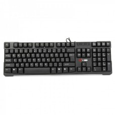 MCSAITE USB Wired 105-Key Keyboard - Black (102cm-Cable)