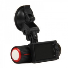 "Dual 1.3MP Lens Wide Angle Car DVR Camcorder w/ TF /AV-Out / GPS Logger / G-Sensor (2.7"" TFT LCD)"