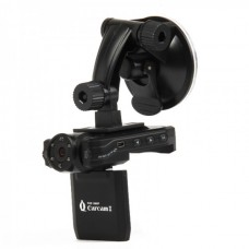 """2.0"""" TFT LCD 1080P 12MP Wide Angle Car DVR Camcorder w/ 6-LED IR Night Vision / AV Out / TF Slot"""