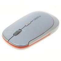 2.4GHz Wireless Optical Mouse - White (2*AAA)