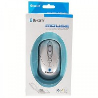 Wireless 2.4GHz Bluetooth V2.0 1000DPI Optical Mouse (2*AAA)