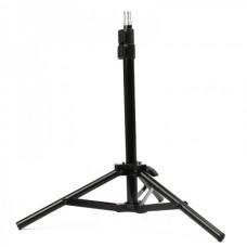 Durable Retractable Iron Tripod - Black