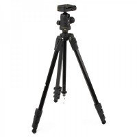 KanTon KT-3010 Camera Tripod Stand Holder Black w/ Package Bag for DV/ SLR/ Camera