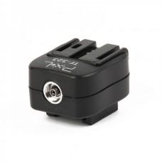 Pixel TF-323 Sony Alpha Flash Hot Shoe Converter Adapter - Black