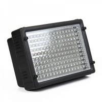 10W 5500K 160-LED White Light Video Lamp for Camera/Camcorder - Black