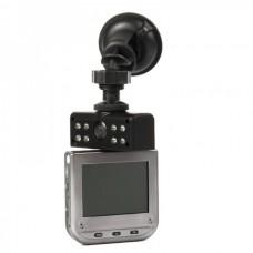"5MP Wide Angle Car DVR Camcorder w/ 8-LED IR Night Vision/AV-Out/TF Slot (2.5"" TFT LCD)"