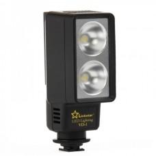 2-LED 5500-6000K 6W White Light for Camera/Camcorder