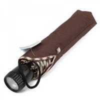 Folding Umbrella with 2-Mode 6-LED Flashlight Handle (2 x CR2032)