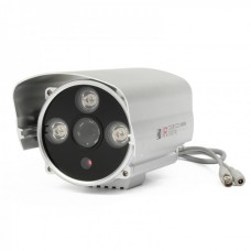 1/3 Sharp CCD 1.3MP Water Resistant Surveillance Security Camera w/ 3-LED IR Night Vision (12mm)