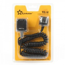 Linkstar TC-U Universal TTL Off Camera Flash Remote Cord Cable for Nikon/Canon/Samsung DSLR