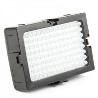 7W 5700K 112-LED White Light Video Lamp for Camera/Camcorder