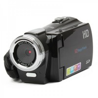"HD-C2 2.7"" TFT LCD 5.0 MP CMOS Digital Video Camcorder with TV-Out/SD (4*AAA)"