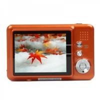 "5.0MP CMOS Compact Digital Video Camera w/ 8X Digital Zoom/SD Slot (2.7"" TFT LCD)"