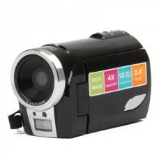 "5.0MP CMOS HD 720P Digital Video Camcorder w/ 4X Digital Zoom/SD Slot (2.4"" TFT LCD / 2*AA)"