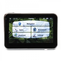 "4.3"" LCD Windows CE 5.0 Core GPS Navigator w/FM Transmitter + Internal 2GB Memory (Europe Maps)"