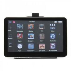 "7.0"" Touch Screen LCD WinCE 5.0 GPS Navigator w/ Bluetooth/FM/AV + 4GB US/Canada/Mexico Maps TF Card"