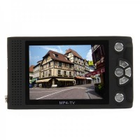 "2.8"" TFT LCD Portable Media Player w/ 300KP Camera/FM/TV/TF (2GB)"