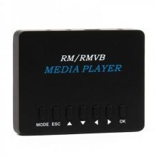 Mini 720P RM/RMVB/MP3 HD Media Player with SDHC/USB Host/AV-Out/YPbPr (Black)