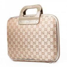 """Protective Oxford Cloth Handbag for 10~12"""" Tablet PC - Light Yellow"""
