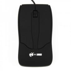 MCSaite USB 2.0 800DPI Optical Mouse - Black (121CM-Cable)