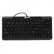 Mini 78-Key USB Wired Keyboard - Black