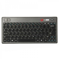 Genuine MC Saite 83-Key Mini Portable 2.4G Wireless Keyboard w/ Trackball Mouse & Receiver (2 x AAA)