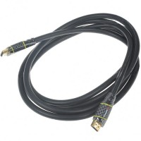 Designer's Gold Plated 1080P HDMI V1.4 M-M Cable (210CM-Length)