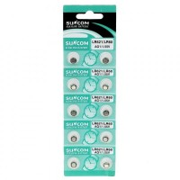 AG1 1.55V Alkaline Cell Button Batteries (20-Pieces Pack)