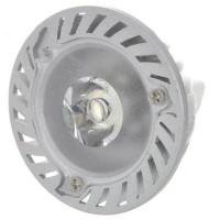 MR16 1W 90-Lumen 6500K White LED Light Bulb (12V)