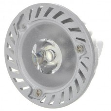 MR16 1W 90-Lumen 6500K White LED Light Bulb (12V)