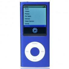 """Designer's Mini 2.0"""" LCD MP3/MP4 Player with Camera/G-Sensor/Voice Recorder/FM - Purple (4GB)"""