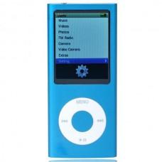 """Designer's Mini 2.0"""" LCD MP3/MP4 Player with Camera/G-Sensor/Voice Recorder/FM - Blue (4GB)"""