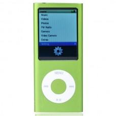 """Designer's Mini 2.0"""" LCD MP3/MP4 Player with Camera/G-Sensor/Voice Recorder/FM - Green(4GB)"""