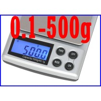 DIGITAL POCKET SCALE 500g/0.1g