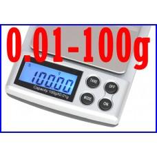 DIGITAL POCKET SCALE 100g/0.01g
