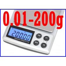 DIGITAL POCKET SCALE 200g/0.01g