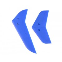 Belt-CP v2 Parts:000685 EK1-0419L Vertical & horizontal tail blade set(Blue)
