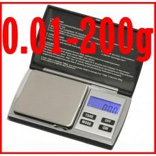 200g 0.01g digital diamond scale