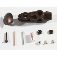 HONEYBEE KING3 Parts:000698 EK1-0429 center hub and spindle set