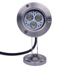 3*1W LM50W070 210-Lumen Water-proof 3W White LED Light Bulb (12V DC 320mA)