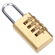 Copper Combination Pad-lock