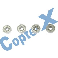 CopterX 450 Helicoptor Part: Bearings(MR83ZZ) 3x8x3mm No: CX450-09-04
