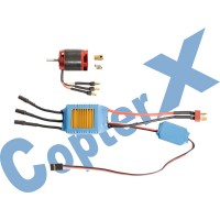 CopterX 450 Helicoptor Part: 430XL Brushless Motor & 50A Brushless ESC with BEC No: CX450-10-06