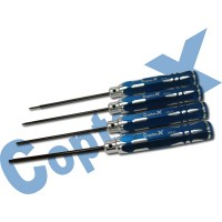 CopterX 450 Helicoptor Part: Hexagon Screw Driver Set 3 No: CX450-08-16