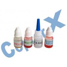 CopterX 450 Helicoptor Part: CopterX Anaerobics Retainer, Grease, Thread Lock, CA Glue No: CX450-08-18