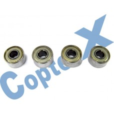 CopterX 450 Helicoptor Part: Bearings(693ZZ) 3x8x4mm No: CX450-09-02
