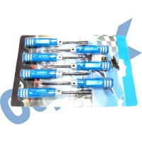 CopterX 450 Helicoptor Part: Hexagon Screw Driver Set 2 No: CX450-08-08