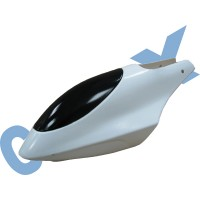 CopterX 450 Helicoptor Part: Canopy (white) No: CX450-07-09