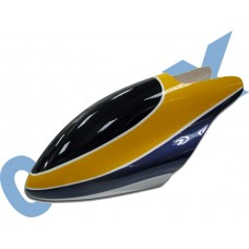 CopterX 450 Helicoptor Part: Glass Fibre Canopy (yellow+purple) No: CX450-07-12