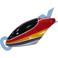 CopterX 450 Helicoptor Part: Glass Fibre Canopy (red+yellow+purple) No: CX450-07-16